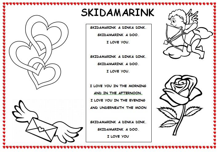 skidamarink lyrics